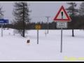 Zapadaná silnice