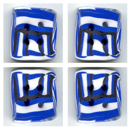 knoflík - M - čtverec