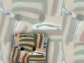 knoflík - Z - čtverec malý