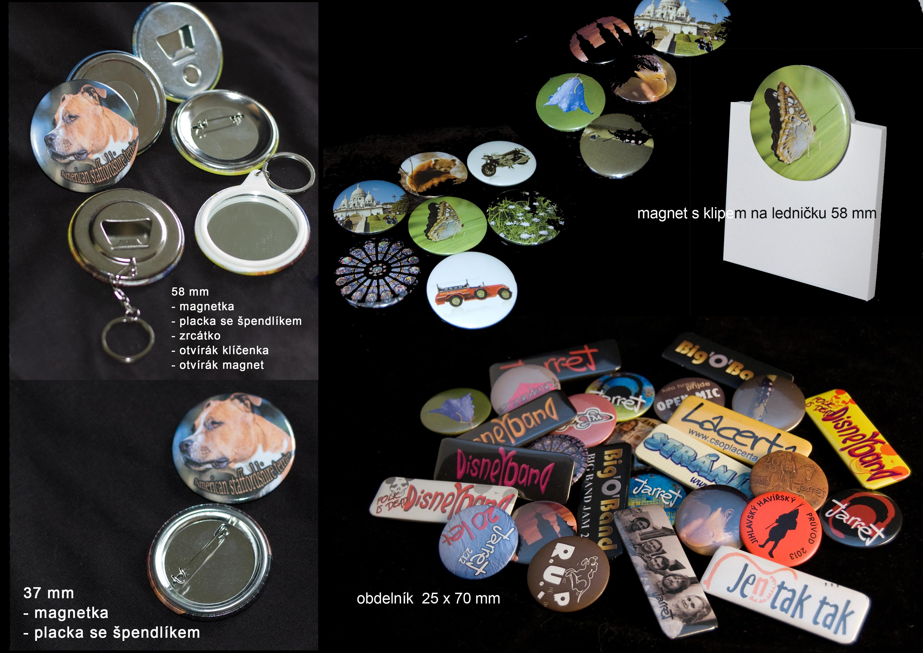 Výroba placek/buttonů